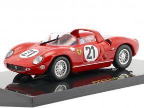 Ferrari 250P #21 Winner 24h LeMans 1963 Scarfiotti, Bandini 1:43 mit Vitrine Altaya