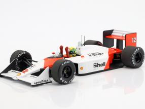 Ayrton Senna McLaren MP4/4 #12 World Champion Japan GP F1 1988 1:18 Minichamps
