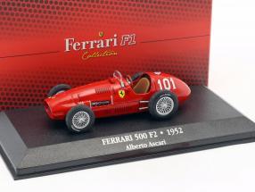 Alberto Ascari Ferrari 500 F2 #101 World Champion formula 1 1952 1:43 Atlas