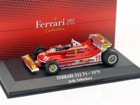 Jody Scheckter Ferrari 312 T4 #11 World Champion formula 1 1979 1:43 Atlas