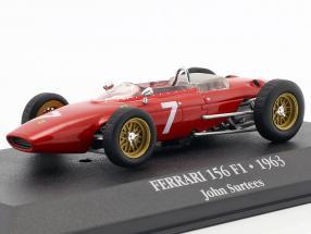 John Surtees Ferrari 156 F1 #7 Formel 1 1963 1:43 Atlas