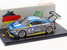 Audi TT RS #89 24h Nürburgring 2017 LMS Engineering 1:43 Spark