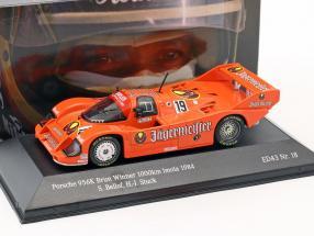 Porsche 956 B Jägermeister #19 Winner 1000km Imola 1984 Stuck, Bellof 1:43 CMR