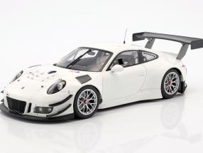 Porsche 911 (991) GT3 R Plain Body Version weiß 2016 1:18 Minichamps