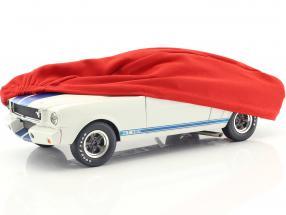 Abdeckhaube rot für Modellautos im Maßstab 1:18