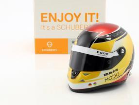 Pascal Wehrlein Sauber C36 #94 formula 1 2017 helmet 1:2 Schuberth