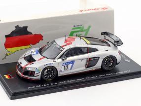Audi R8 LMS GT4 #17 24h Nürburgring 2017 Audi Sport Team Phoenix 1:43 Spark
