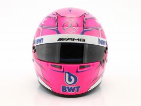 Esteban Ocon Force India VJM11 #31 formula 1 2018 helmet 1:2 Bell