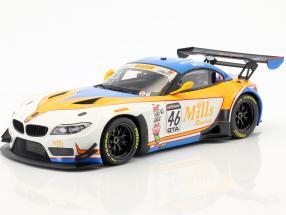 BMW Z4 GT3 (E46) #46 Pirelli World Challenge Champion 2016 Wittmer, Mills 1:18 Minichamps