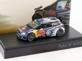 Volkswagen VW Polo R WRC #9 WRC 2015 Mikkelsen, Floene 1:43 Spark
