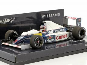 Nigel Mansell Williams Renault FW13B #5 test session formula 1 1:43 Minichamps