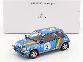 Renault Super 5 GT Turbo #4 3rd Rallye Ivory Coast 1990 Oreille, Roissard 1:18 Norev