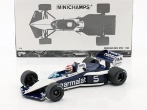 Nelson Piquet Brabham BT52 #5 World Champion formula 1 1983 1:18 Minichamps