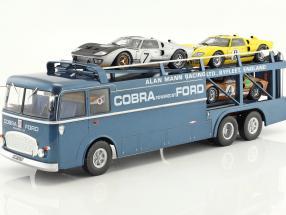 Fiat Bartoletti 306/2 Shelby Cobra Racing transporter Alan Mann Racing Ltd
