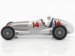 Manfred von Brauchitsch Mercedes-Benz W125 #14 2nd Germany GP formula 1 1937