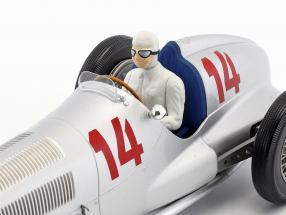 Manfred von Brauchitsch Mercedes-Benz W125 #14 2nd Germany GP formula 1 1937