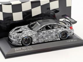 BMW M6 GT3 Presentation Car 24h Spa 2015 weiß / grau 1:43 Minichamps