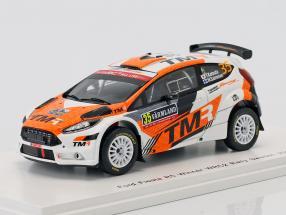Ford Fiesta R5 #35 Winner WRC2 Rallye Schweden 2018 Katsuta, Salminen 1:43 Spark