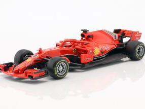 Sebastian Vettel Ferrari SF71H #5 Formel 1 2018 in Blister 1:43 Bburago
