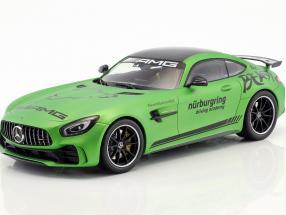 Mercedes-Benz AMG GT-R Driving Academy 2017 green metallic 1:18 Minichamps