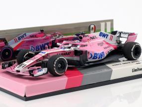 Sergio Perez Force India VJM11 #11 bahrain GP formula 1 2018 1:43 Minichamps