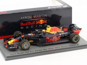 Max Verstappen Red Bull Racing RB14 #33 Winner Austrian GP formula 1 2018 1:43 Spark