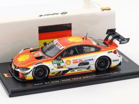 BMW M4 DTM #15 DTM Hockenheimring 2017 Augusto Farfus 1:43 Spark