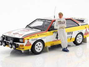 Walter Röhrl Audi Sport Rallye Figur 1:18 Figurenmanufaktur