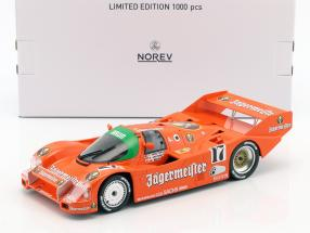 Porsche 962 C #17 Jägermeister Winner 1000km Spa 1986 Boutsen, Jelinski 1:18 Norev