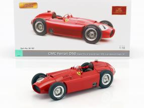 Juan Manuel Fangio Ferrari D50 #1 Winner British GP World Champion formula 1 1956 1:18 CMC