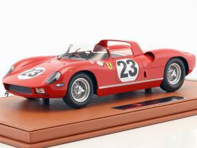 Ferrari 250 P #23 24h Le Mans 1963 Surtees, Mairesse with showcase 1:18 BBR