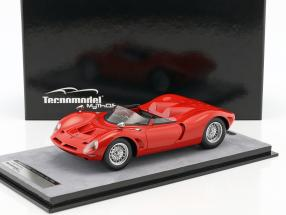 Bizzarrini P538 spyder Press Version 1965 rosso corsa 1:18 Tecnomodel