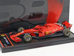 Sebastian Vettel Ferrari SF71H #5 Winner Australien GP Formel 1 2018 1:43 BBR