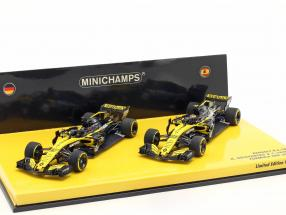 N. Hülkenberg #27 & C. Sainz #55 2-Car Set Renault R.S.18 formula 1 2018 1:43 Minichamps