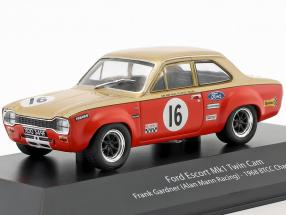 Frank Gardner Ford Escort Mk1 Twin Cam #16 BTCC Champion 1968 1:43 Atlas