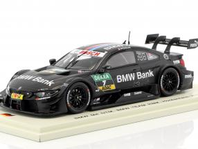 BMW M4 DTM #7 DTM Hockenheim 2017 Bruno Spengler 1:43 Spark