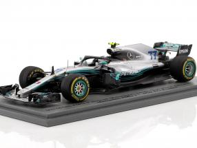 Valtteri Bottas Mercedes-AMG F1 W09 EQ Power  #77 2nd Chinese GP Formel 1 2018 1:43 Spark