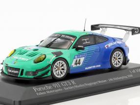 Porsche 911 (991) GT3 R #44 9th 24h Nürburgring 2018 Falken 1:43 Minichamps