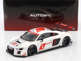 Audi R8 LMS #1 Presentation Car Autosalon Genf 2016 1:18 AUTOart
