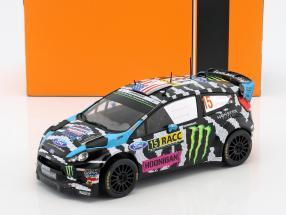 Ford Fiesta RS WRC #15 Rallye Katalonien 2014 Block, Gelsomino 1:18 Ixo