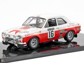 Ford Escort MK I RS 1600 #16 5th RAC Rallye 1971 Mäkinen, Liddon 1:43 Ixo