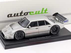 Set Book of the year 2018 with Model of the year Sauber-Mercedes W140 year 1990 silver 1:43 AutoCult