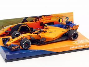 Stoffel Vandoorne McLaren MCL33 #2 Spanien GP Formel 1 2018 1:43 Minichamps