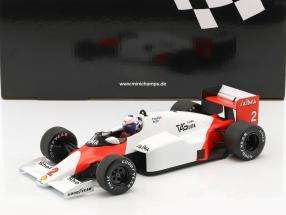 Alain Prost McLaren MP4/2B #2 World Champion Formel 1 1985 1:18 Minichamps