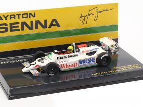 Ayrton Senna Toyota RT3 #2 1st F3 test Silverstone 1982 1:43 Minichamps
