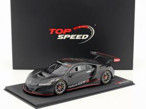 Honda NSX GT3 Presentation Car 2017 black 1:18 TrueScale