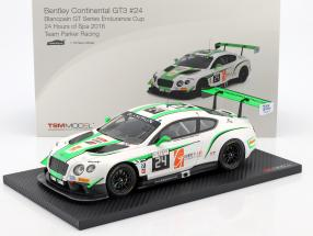 Bentley Continental GT3 #24 24h Spa 2016 Team Parker Racing 1:18 TrueScale