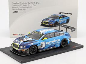 Bentley Continental GT3 #84 Winner Moscow City Racing 2015 Bentley Team HTP 1:18 TrueScale