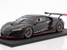 Honda NSX GT3 Presentation Car 2017 black 1:18 TrueScale