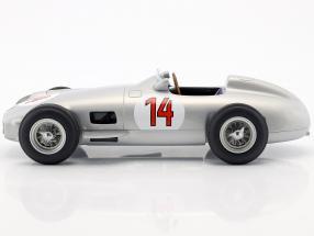 Stirling Moss Mercedes-Benz W196 #14 2nd Belgian GP formula 1 1955